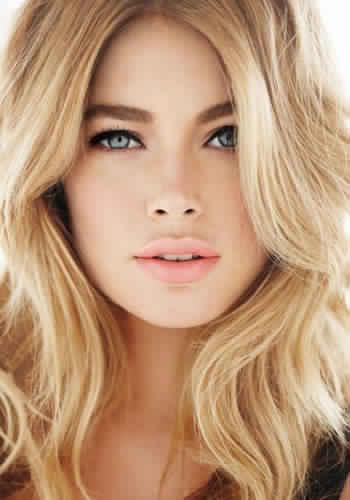 طريقة تحديد لون البشرة ولون الشعر رائعة