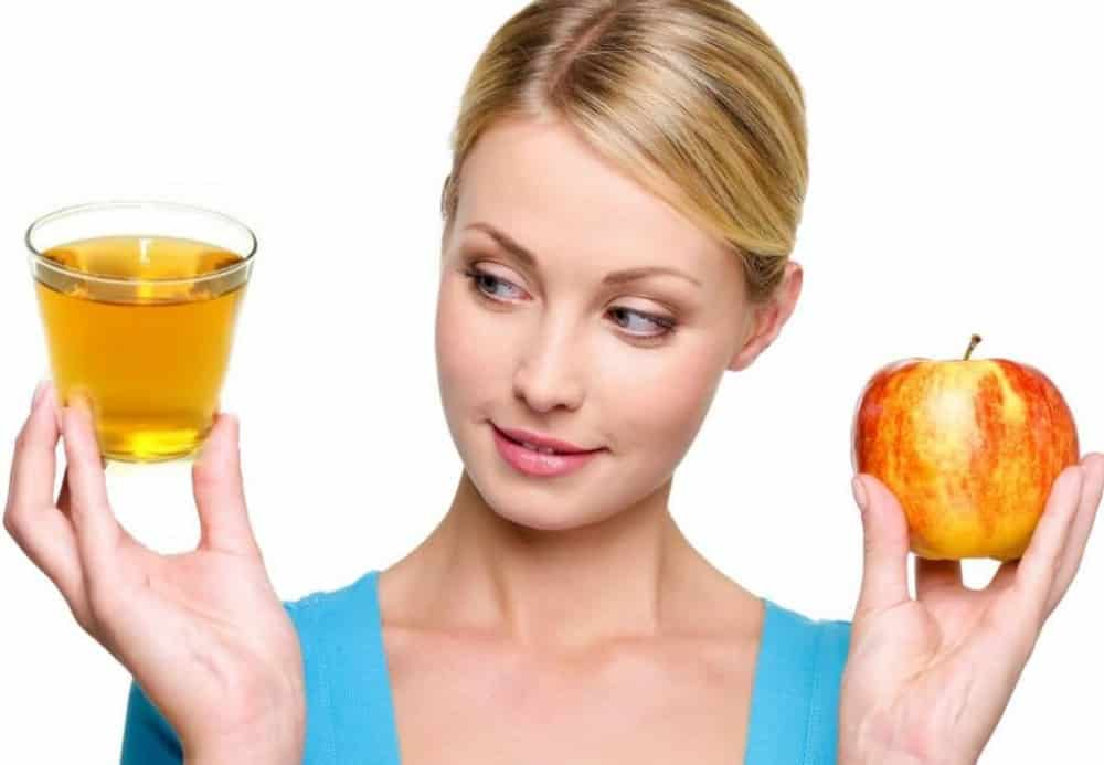 ماسك خل التفاح لتفتيح البشرة